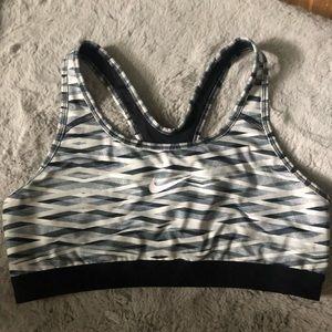 Nike designed sports bra